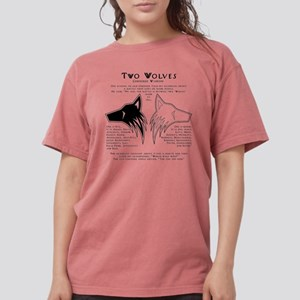 Shirt---two_wolves-back T-Shirt