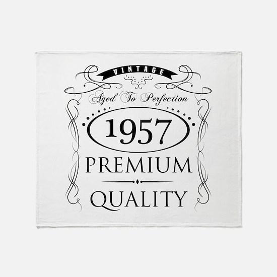 1957 Premium Quality Throw Blanket