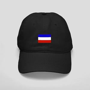 serbia and montenegro flag Black Cap