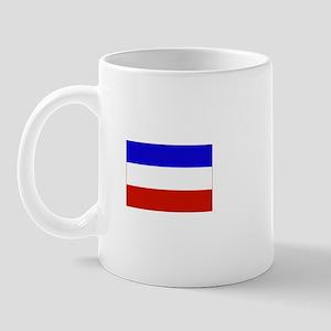 serbia and montenegro flag Mug