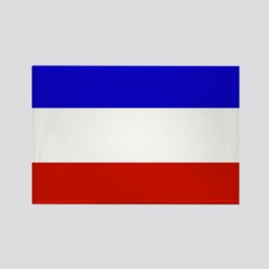 serbia and montenegro flag Rectangle Magnet