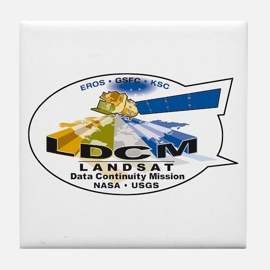 LDCM 8 Logo Tile Coaster
