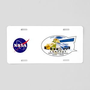 LDCM 8 Logo Aluminum License Plate