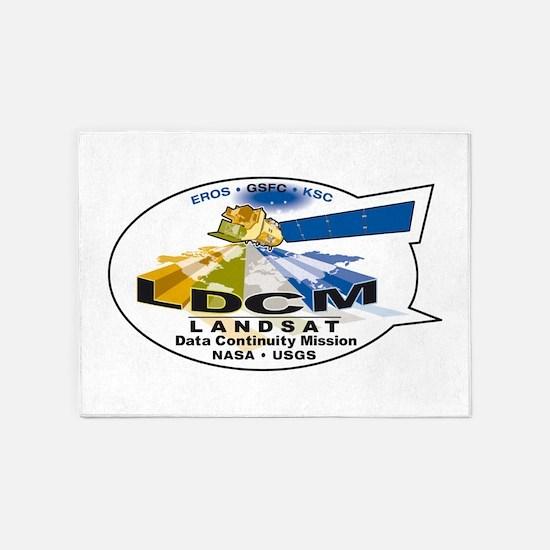 LDCM 8 Logo 5'x7'Area Rug
