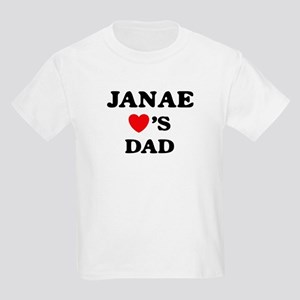 Janae loves dad Kids Light T-Shirt