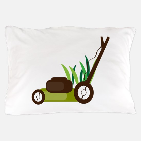 Lawn Mower Pillow Case