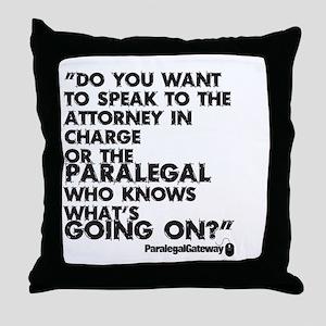 PG text 2 Throw Pillow