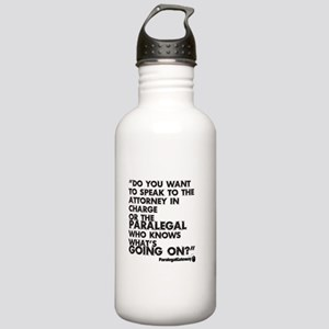 PG text 2 Water Bottle