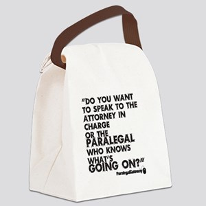 Pg Text 2 Canvas Lunch Bag