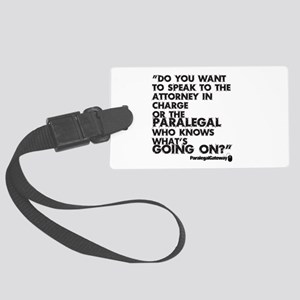 Pg Text 2 Large Luggage Tag