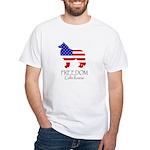 Uni-Sex White T-Shirt