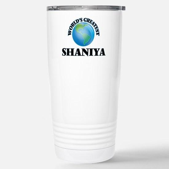 World's Greatest Shaniy Stainless Steel Travel Mug