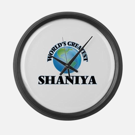 World's Greatest Shaniya Large Wall Clock