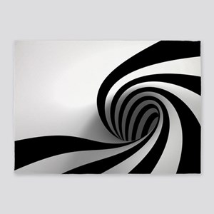 Licorice Swirl 5'x7'area Rug