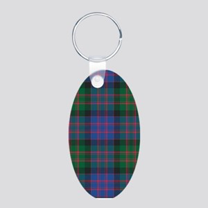Tartan - MacDonald Aluminum Oval Keychain