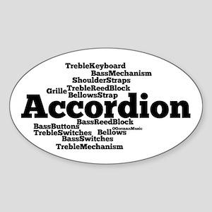 Accordion Sticker