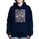 Abstract Whimsical Flowers Sweatshirt