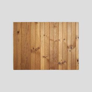 Wood Floor 5'x7'area Rug