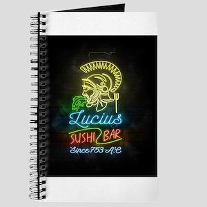Lucius Sushi Bar Journal