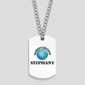 World's Greatest Stephany Dog Tags