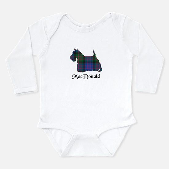 Terrier - MacDonald Long Sleeve Infant Bodysuit