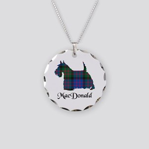 Terrier - MacDonald Necklace Circle Charm