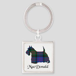 Terrier - MacDonald Square Keychain