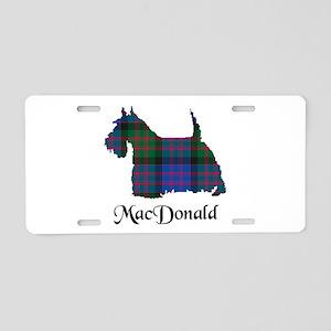 Terrier - MacDonald Aluminum License Plate
