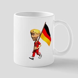 Germany Boy Mug