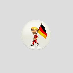 Germany Boy Mini Button