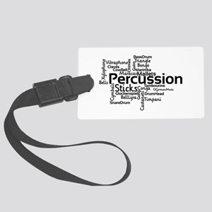 Percussion Luggage Tag