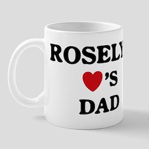 Roselyn loves dad Mug