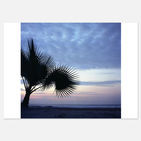 Funny Palm trees Invitations