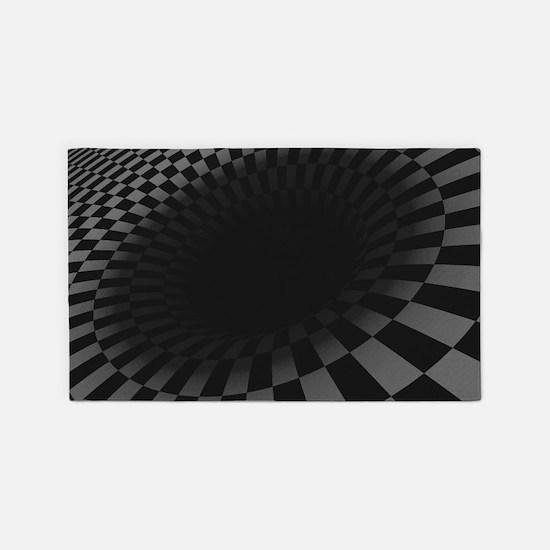 Black Hole 3'x5' Area Rug