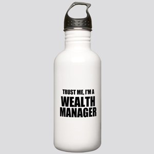 Trust Me, I'm A Wealth Manager Water Bottle