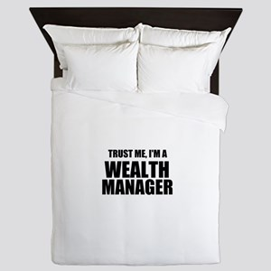 Trust Me, I'm A Wealth Manager Queen Duvet