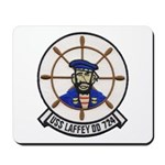 USS LAFFEY Mousepad