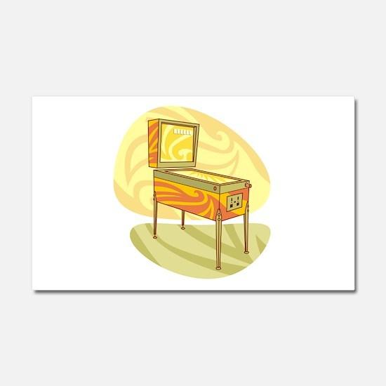 Pinball Car Magnet 20 x 12