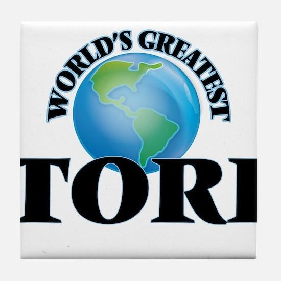 World's Greatest Tori Tile Coaster