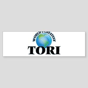 World's Greatest Tori Bumper Sticker