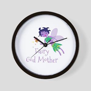 Fairy God Mother Wall Clock