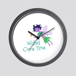 Wishes Wall Clock