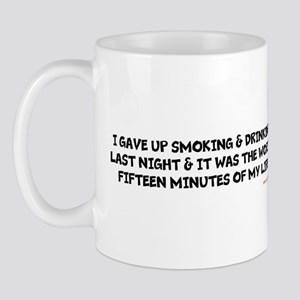 Worst 15 Minutesug Mugs