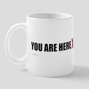 You Are Here X Coffee Mug Mugs