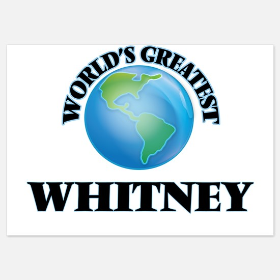 World's Greatest Whitney Invitations