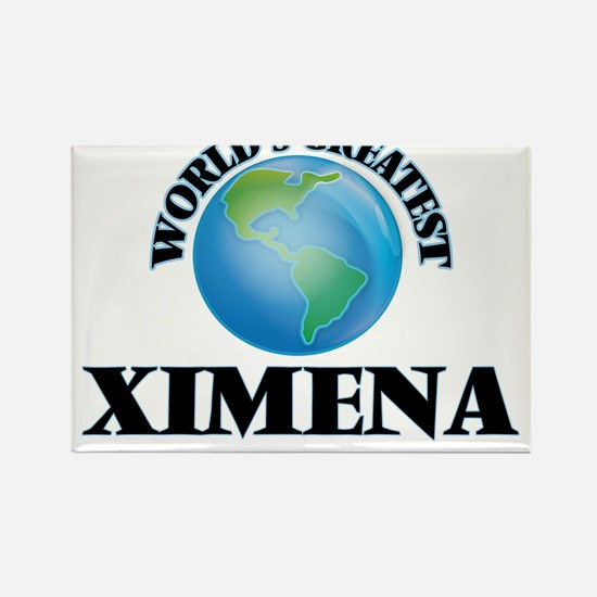 World's Greatest Ximena Magnets