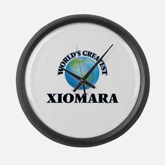 World's Greatest Xiomara Large Wall Clock
