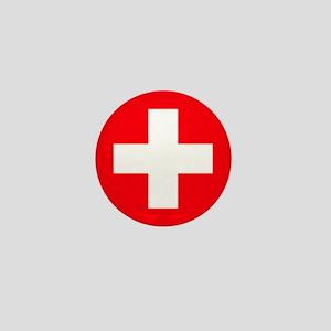 suisse flag Mini Button