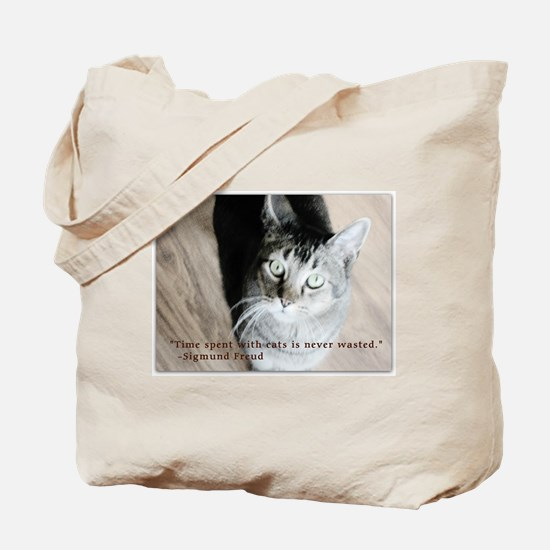 Time Spent With Cats Tote Bag