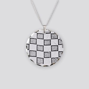 checkered flag Necklace